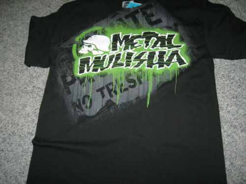 MSRP-$22.00 METAL MULISHA Mens T-Shirts,Crew Neck,100/% Cotton,New with Tags