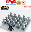 thumbnail 3 - 21pcs lot STAR WARS Clone Trooper Commander Fox Rex Mini toy building block