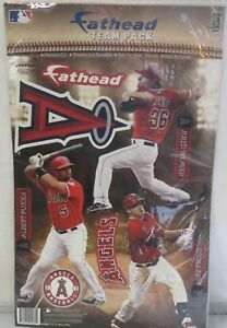 07d4464591d Fathead Team Pack Los Angeles Angels Albert Pujols Jered Weaver Mike ...