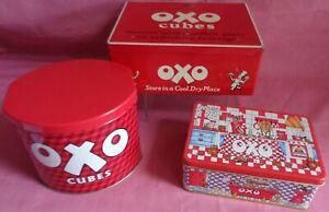 3 Promotional Kitchen Storage Oxo Tins