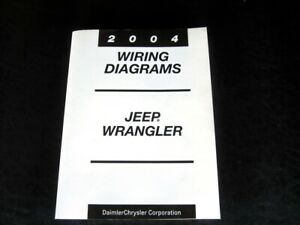 2004 Jeep Wrangler Factory Wiring Diagrams Electrical OEM ...