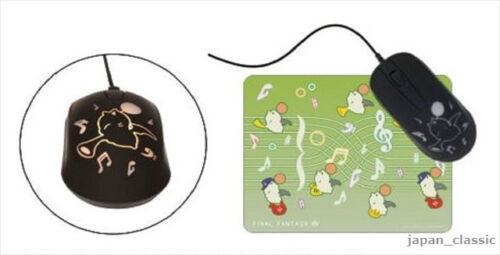 TAITO JAPAN NEW Final Fantasy XIV Gleaming Mouse /& Mouse Pad Moguli Moogle ver