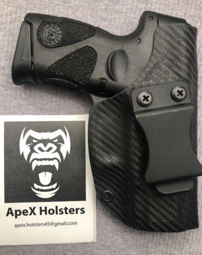 Kydex IWB Black Carbon Fiber. Right Hand Fits Taurus G2C Holster
