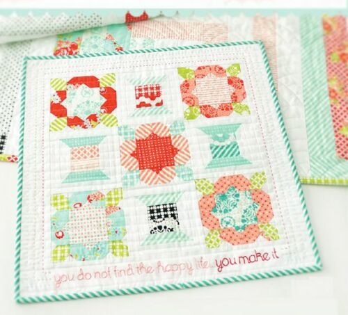 HANDMADE Quilt Kit Pattern + Moda Bonnie & Camille Fabric