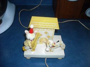 VINTAGE CHILDS NIGHT LIGHT WOODEN EXCELLENT CONDITION