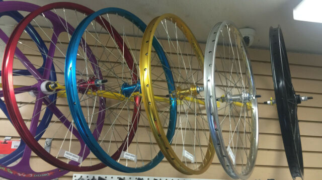 """29 x 1.75/"""" BMX Front /& Rear Wheelset Double Walls Sealed Bearing Pick up 5 color"""