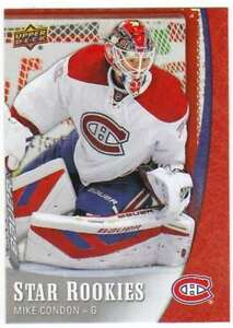 2015-16-Upper-Deck-NHL-Star-Rookies-Hockey-RC-2-Mike-Condon-Canadiens