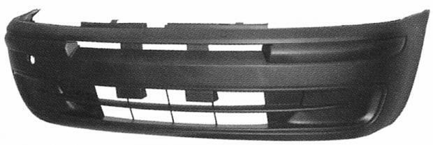 735271239 Paraurti ant Fiat Punto 99-03 5 porte Goffrato nero - Ricambio origin