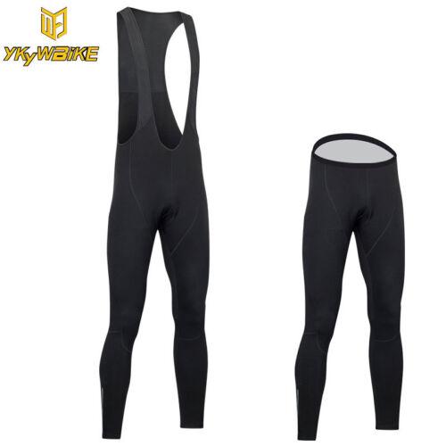 YKYWBIKE High quality pro team Winter thermal fleece cycling bib pants top pants