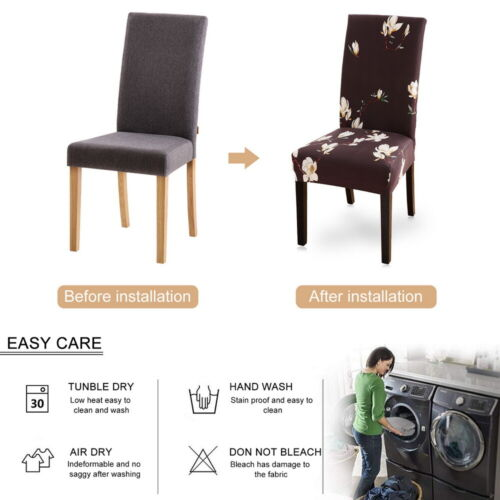 Stretch Spandex Wedding Banquet Chair Cover Party Decor Dining Room Seat Covers