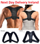 Posture-Corrector-Adjustable-Clavicle-Back-Support-Neck-Brace-for-Men-amp-Women thumbnail 1