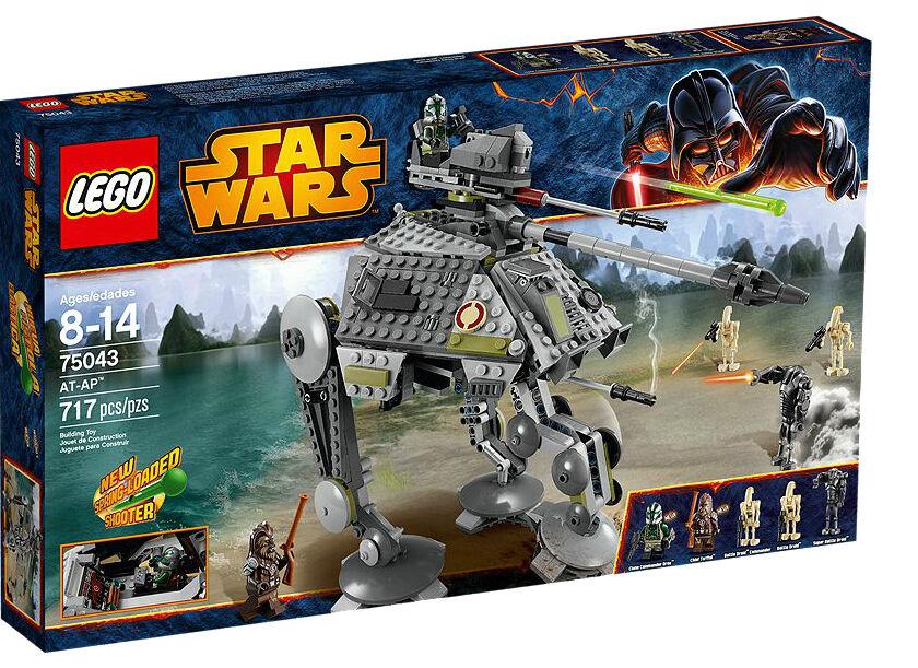 LEGO Star Wars AT-AP AT-AP AT-AP Set w  717 Pcs & 5 Mini-figures NEW Sealed 77fc7a
