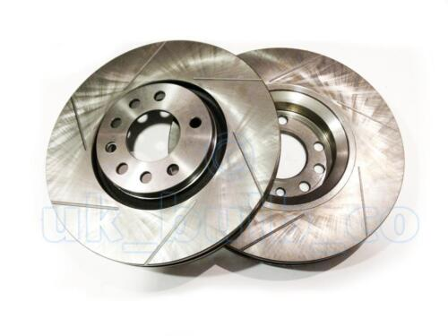 GROOVED Performance FRONT Brake Discs OPEL ASTRA H Estate 1.9 CDTI 16V 2004-On