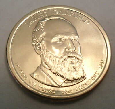 2011-S James Garfield DCAM Proof Presidential Dollar Bargain Priced FREE S/&H