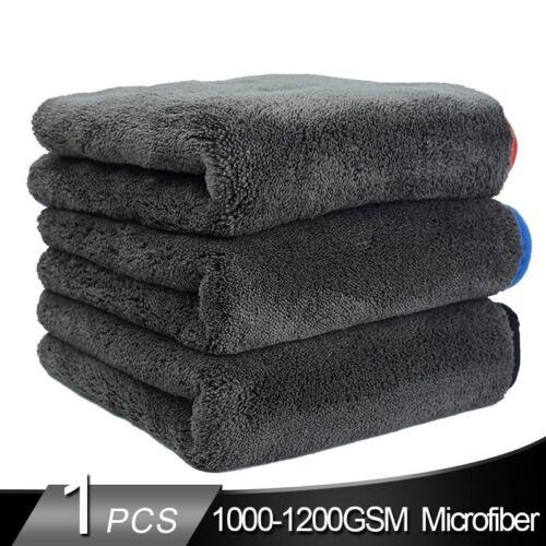 Car Drying Towel Microfiber Cleaning Wash Plush Premium Bulk Gsm Professional
