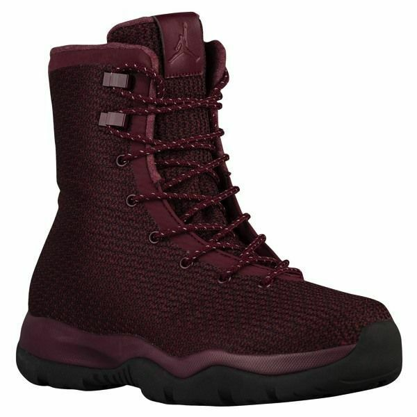 Nike Jordan Mens Future Boot 854554 600 Maroon Burgundy Waterproof 10 10.5  225