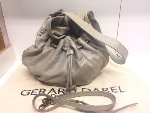 Sac Darel En Clair Bag Agneau Tbe Pom Modèle Cuir Gris Gerard Proche D SEq0d