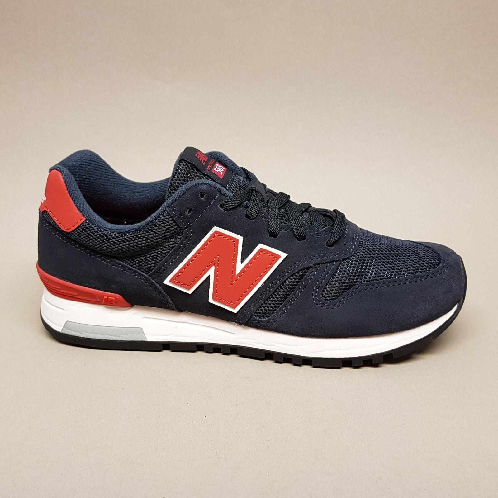 New Balance Classics ML565NTW Navy Red Turnschuhe Sneaker blau rot unisex