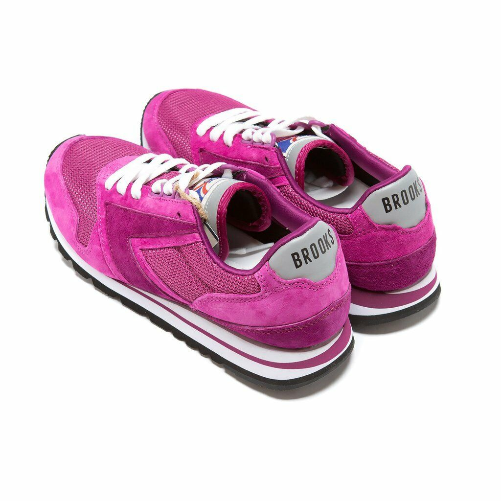 NIB BROOKS HERITAGE HERITAGE HERITAGE CHARIOT femmes 526 FUSCIA RETRO RUNNING chaussures SOLD OUT 7-11 d7f0e9