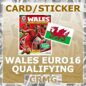 PANINI-FOOTBALL-STICKERS-WALES-EURO-2016-QUALIFYING-CAMPAIGN-ROAD-TO-FRANCE