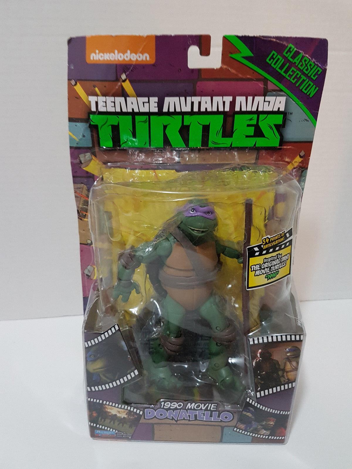 Donatello 1990 Movie TMNT Classics Collection 6  Playmates MOSC NIP New