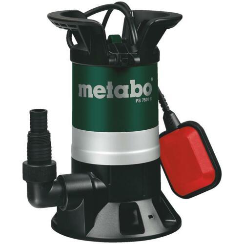 Metabo Eau Sale Pompe D/'Immersion Ch 7500 S Pompage Umwälzen Irrigation Étang