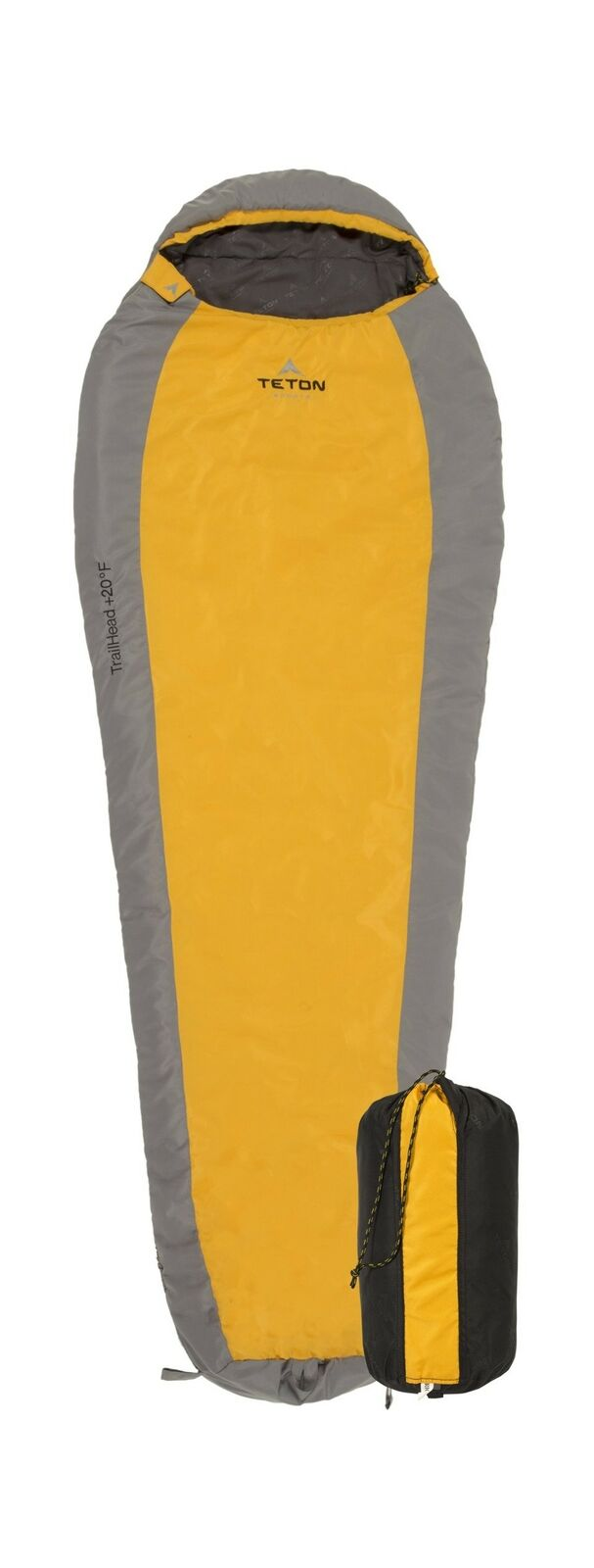 TETON Sports TrailHead Ultralight Mummy Sleeping Bag; Lightweight Backpacking...