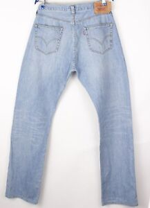 Levi's Strauss & Co Herren 501 Gerades Bein Jeans Größe W36 L36 BBZ355