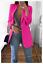 Women-Slim-Casual-Blazer-Jacket-Top-Outwear-Long-Sleeve-Career-Formal-Long-Coat thumbnail 23