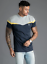 Gym-King-Mens-Short-Sleeve-Designer-Collared-Zip-Fastening-Polo-Shirt-T-shirt thumbnail 6