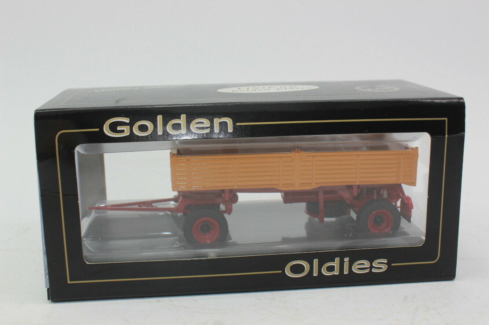 Gmts 2704 oroen Oldies 2ejes Remolque Volcable Naranja Individual Tire 1