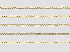 3 METRES DE CHAINE METAL DORÉ 5,5 x 3,5 x 0,6mm CREATION BIJOUX