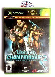 Unreal-Championship-2-Xbox-Neuf-Scelle-Retro-Scelle-Produit-Nouveau-Pal-Spa