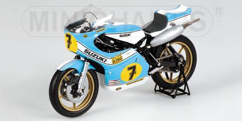 1 12 Minichamps Suzuki XR 14 GP 500 1975 Barry Sheene  7 122760007 RARE NEW