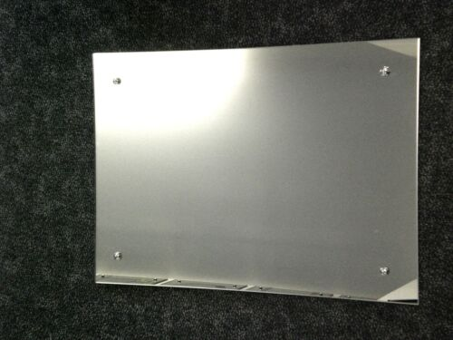 4mm FRAMELESS POLISHED /& DRILLED MIRROR MADE TO YOUR OWN SIZE upto 914mm x 610mm