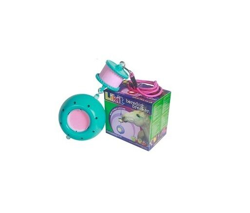 Likit Boredom Breaker Toy Aqua Horse Likit Treat Holder