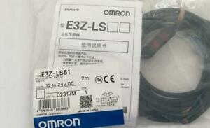 1pcs New Omron Brand New Photoelectric switch E3Z-LS61 2M