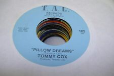 Country Nm! 45 Tommy Cox - Pillow Dreams / What'S The Matter On T. A. C.