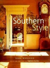 Southern Style Mayfield, Mark, Southern Accents Magazine Hardcover