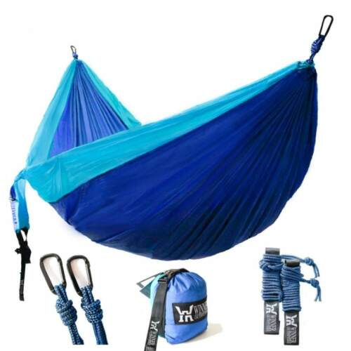 Lightweight Nylon Portable Hammock Winner Outfitters Double Camping Hammock