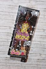 Barbie, Modepuppen, Fashionistas, doll, puppe, im gelben kleid