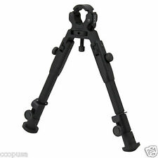 "9"" Universal Barrel Clamp Mount Adjustable Tactical Rifle Bipod BP-39S"