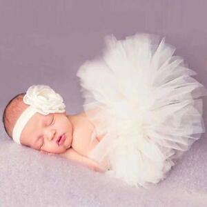 Headdress-Flower-Tutu-Clothes-Newborn-Baby-Girls-Skirt-Photo-Prop-Costume-Outfit