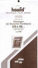 hawid  1238   10er Kleinbogen BRD 210x105 mm schwarz