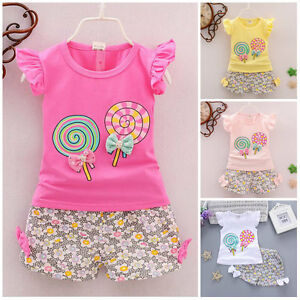 2pc-baby-girl-clothes-summer-Tee-short-pants-kids-girls-casual-outfits-lolly