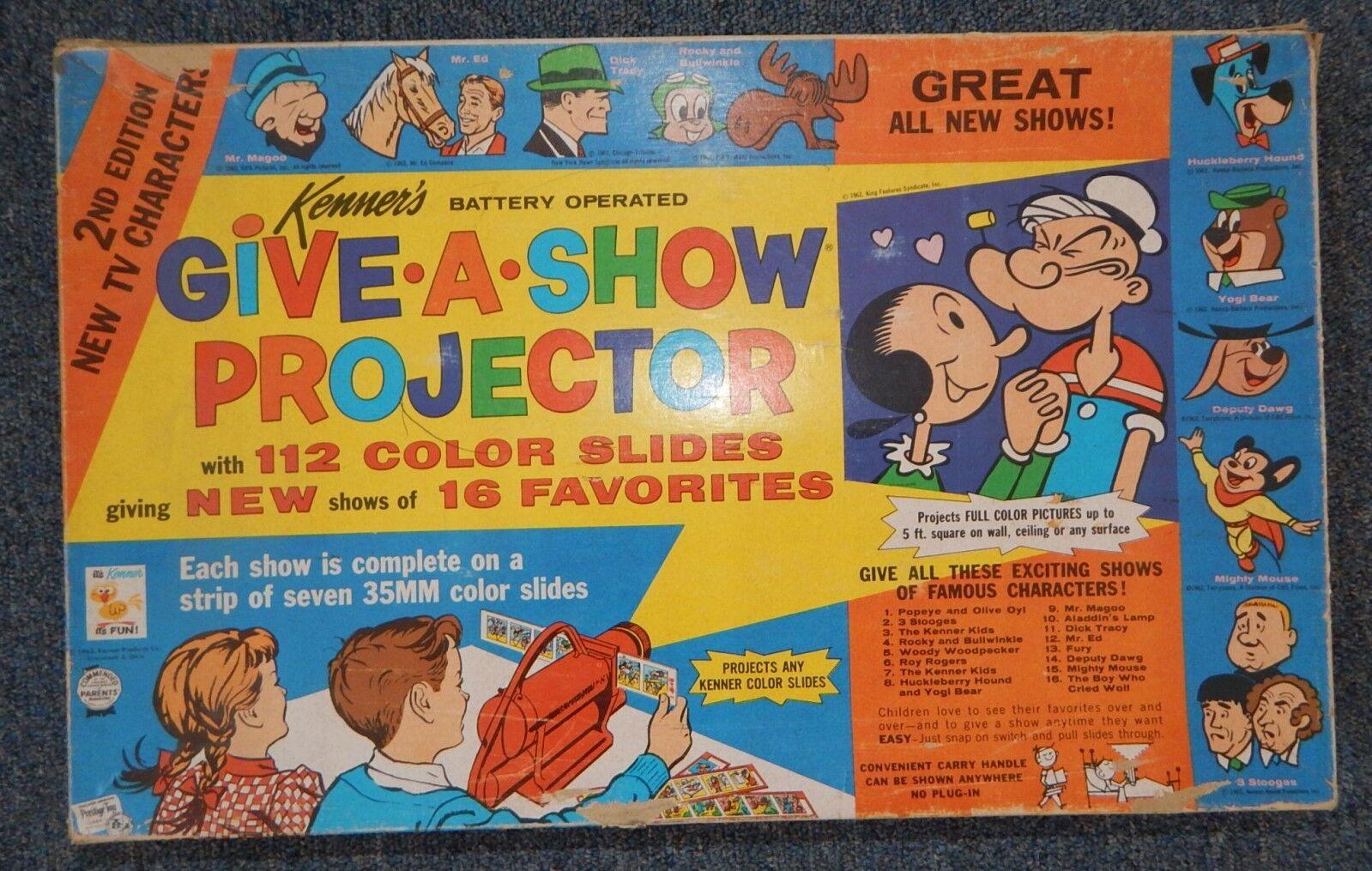 punto de venta de la marca Vintage Vintage Vintage Kenner Give a A Show Set Complete in Box  R17994  centro comercial de moda