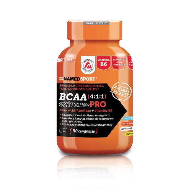 Named Sport BCAA 4:1:1 EXTREME PRO 110 Compresse Aminoacidi 4:1:1 + B6