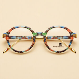 NEW-Vintage-Round-Metal-Glasses-Eyeglasses-Frame-Myopia-Spectacles-Optical-Rx