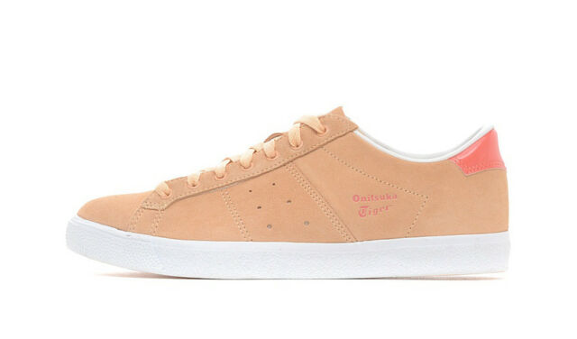 Womens Onitsuka Tig Lawnship D6K6L 1776 Bleached Apricot Casual Ladies Trainers