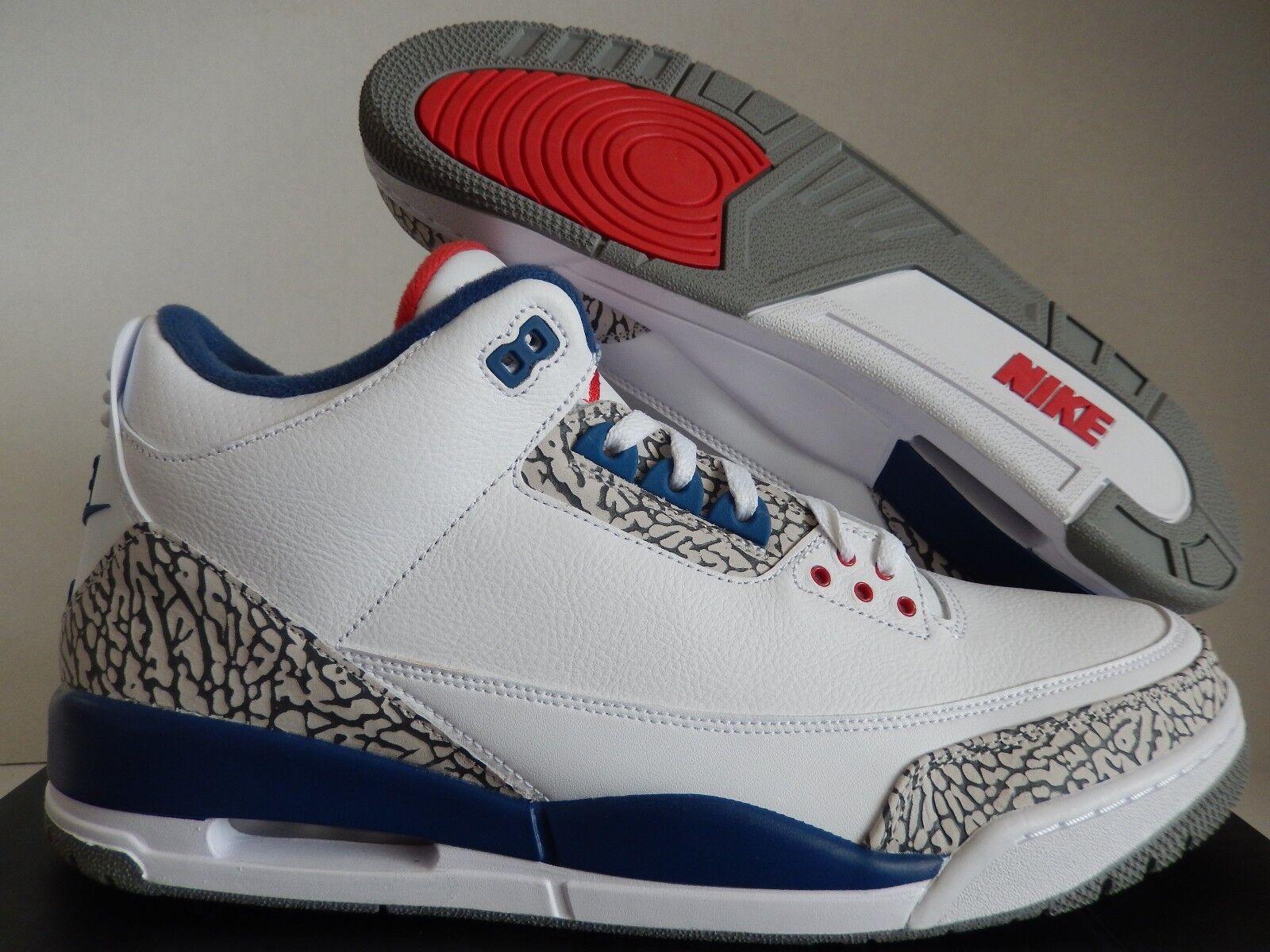 Nike Air Jordan 3 retro og Blanco-fire reducción estacional de red-true Azul Precio venta de estacional liquidacion 1d30e2